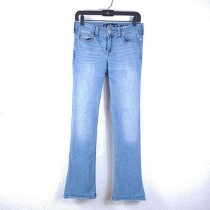 HOLLISTER Low-Rise Boot Light Wash Jeans